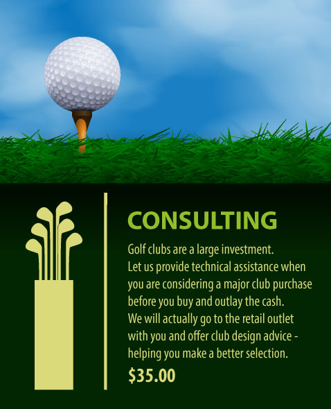 Golf Club Building, Fitting, and Repair